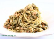 spaghetti gamberi e pesto_20007